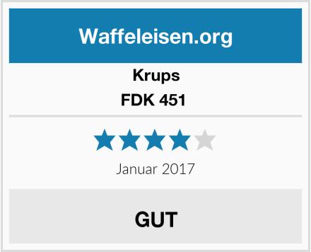 Krups FDK 451  Test