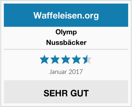 Olymp Nussbäcker Test