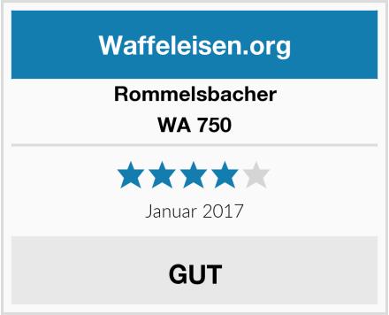Rommelsbacher WA 750 Test
