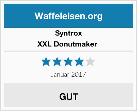 Syntrox XXL Donutmaker  Test