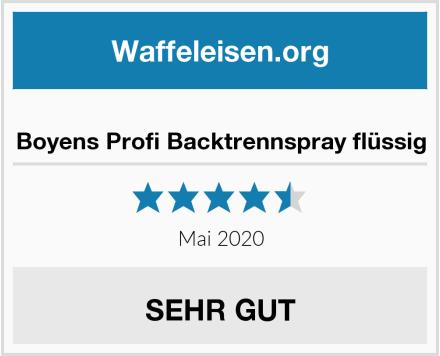 No Name Boyens Profi Backtrennspray flüssig Test