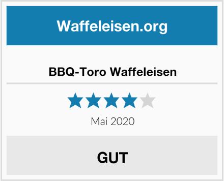 BBQ-Toro Waffeleisen Test