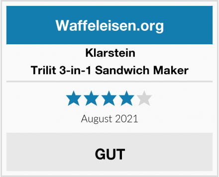 Klarstein Trilit 3-in-1 Sandwich Maker Test