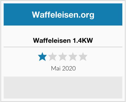 Waffeleisen 1.4KW Test