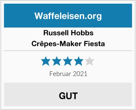 Russell Hobbs Crêpes-Maker Fiesta Test