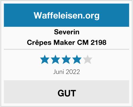 Severin Crêpes Maker CM 2198 Test