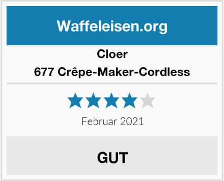 Cloer 677 Crêpe-Maker-Cordless Test