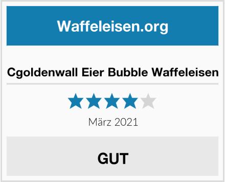 Cgoldenwall Eier Bubble Waffeleisen Test