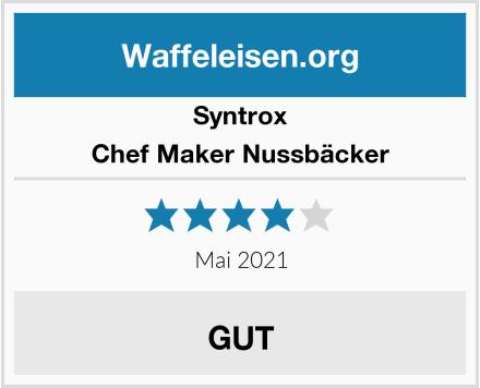 Syntrox Chef Maker Nussbäcker Test