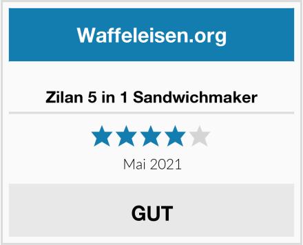 Zilan 5 in 1 Sandwichmaker Test