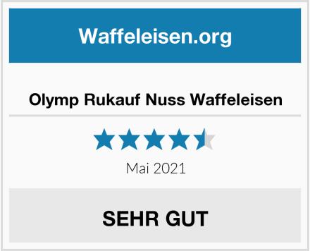 Olymp Rukauf Nuss Waffeleisen Test