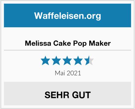 Melissa Cake Pop Maker Test