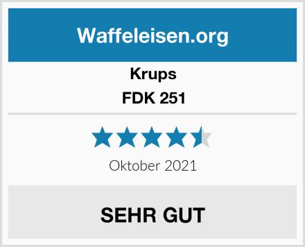 Krups FDK 251 Test