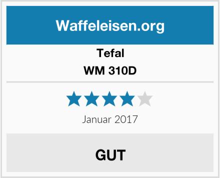 Tefal WM 310D Test