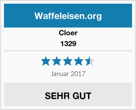 Cloer 1329 Test