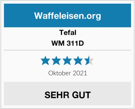Tefal WM 311D Test