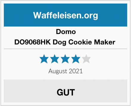 Domo DO9068HK Dog Cookie Maker  Test
