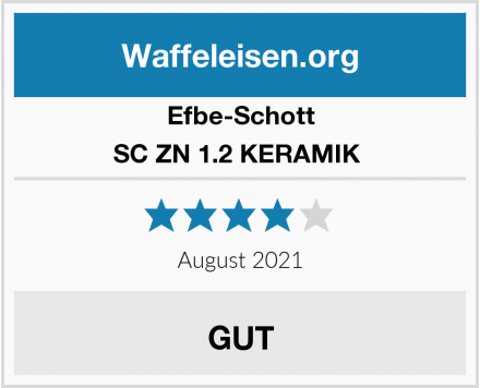 Efbe-Schott SC ZN 1.2 KERAMIK  Test