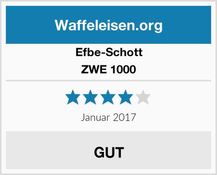 Efbe-Schott ZWE 1000 Test