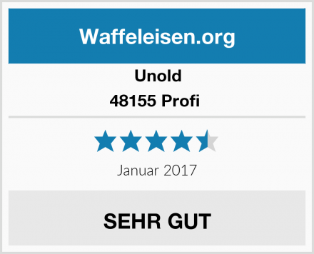 Unold 48155 Profi  Test