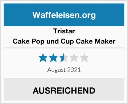 Tristar Cake Pop und Cup Cake Maker Test