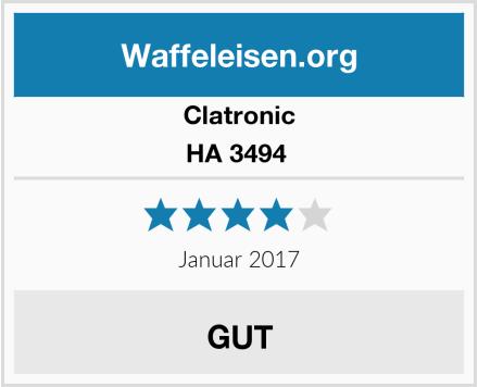 Clatronic HA 3494  Test