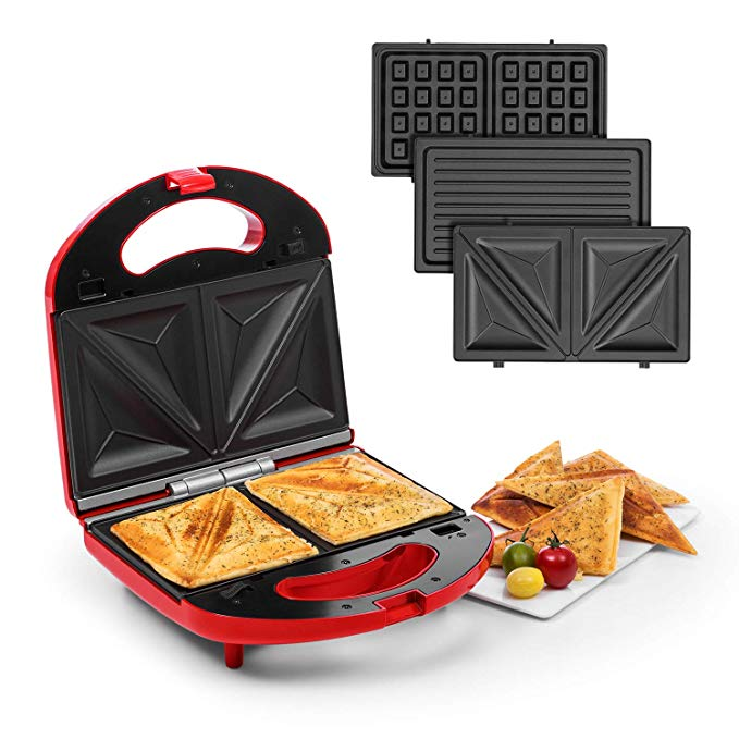 Klarstein Trilit 3-in-1 Sandwich Maker