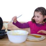 Waffeln backen mit Kindern – was gibt es zu beachten?